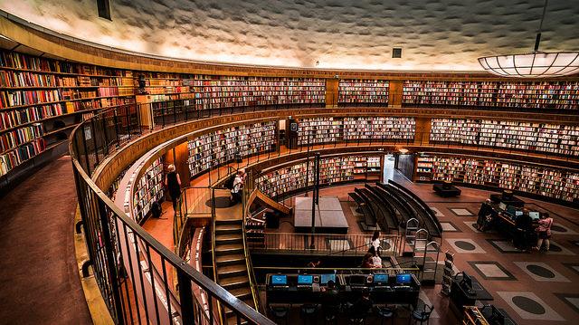 グンナール・アスプルンド_ストックホルム市立図書館